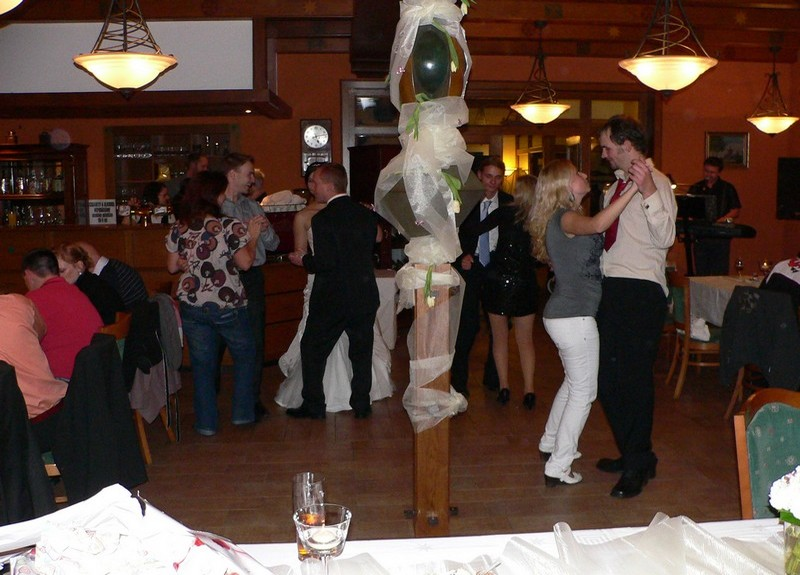 Svatba - Zámecká restaurace